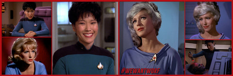 NATIONAL NURSES DAY STAR TREK TNG NURSES