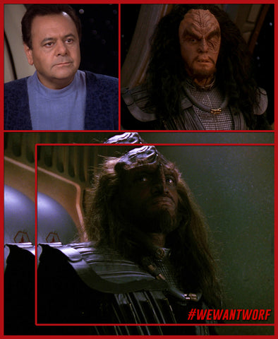 NATIONAL SIBLINGS DAY WORF AND HIS BROTHERS STAR TREK TNG