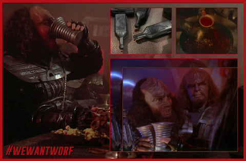 NATIONAL WINE DAY STAR TREK TNG KLINGONS