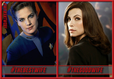 THE GOOD WIFE VS THE BEST WIFE STAR TREK DS9
