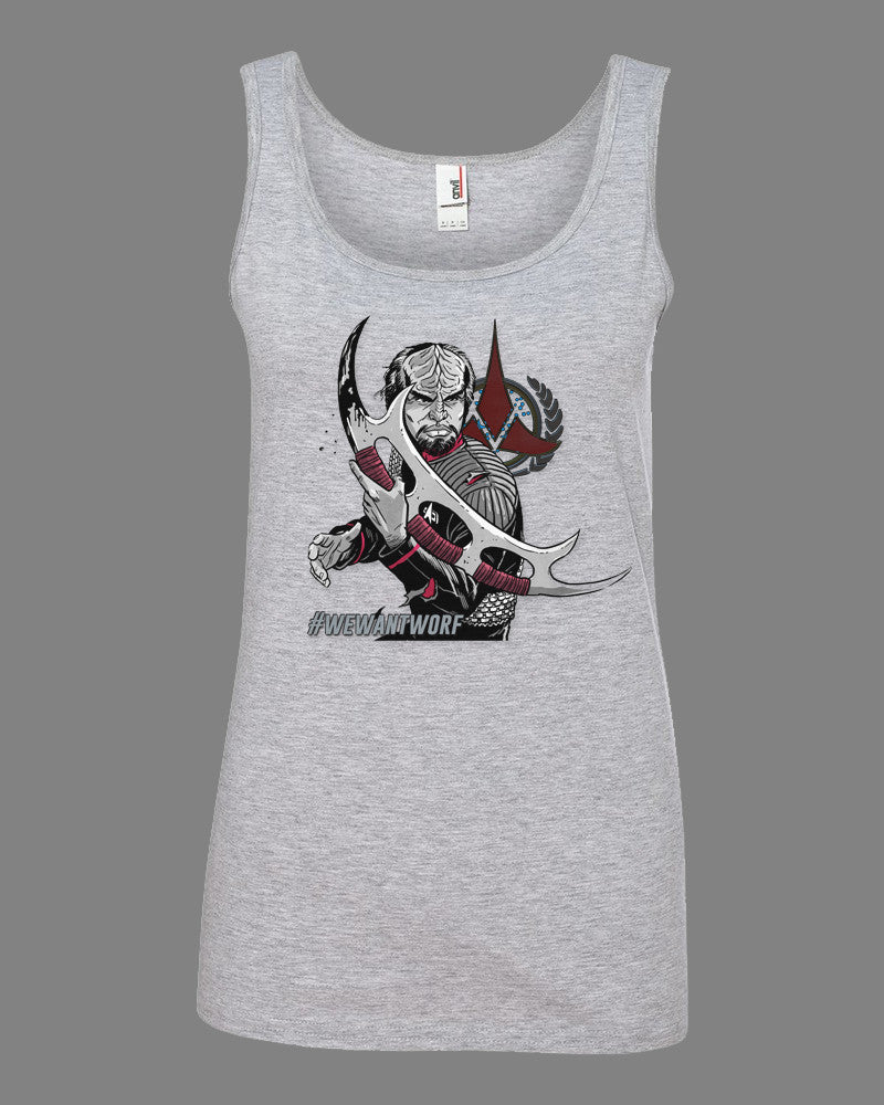 """Into Battle"" Edition Ladies Tank Top"