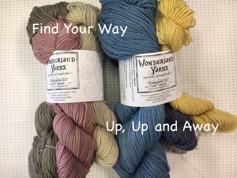 Compass Kit by Wonderland Yarns