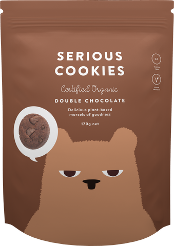 Double Choc Chip Cookies (170g)