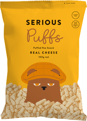Serious Puffs - Real Cheese (100g)