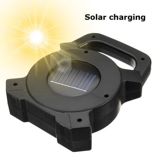 30W Solar Portable Rechargeable LED Flood Light