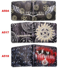 Load image into Gallery viewer, Supernatural Series PU Leather Short Wallet