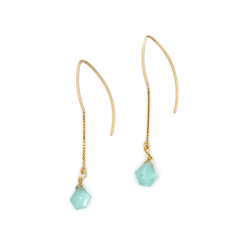 Amazonite Dangle Earring