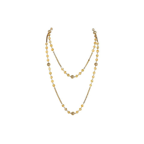 Chloe Chain Strand Necklace