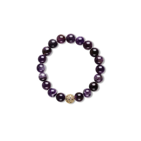 Isabelle Stretchy Bracelet With Multi CZ