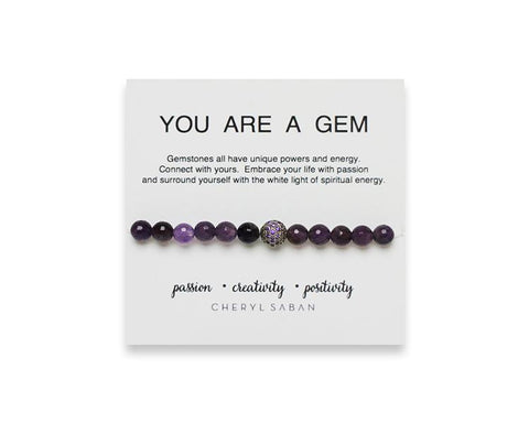 You Are A Gem Bracelet