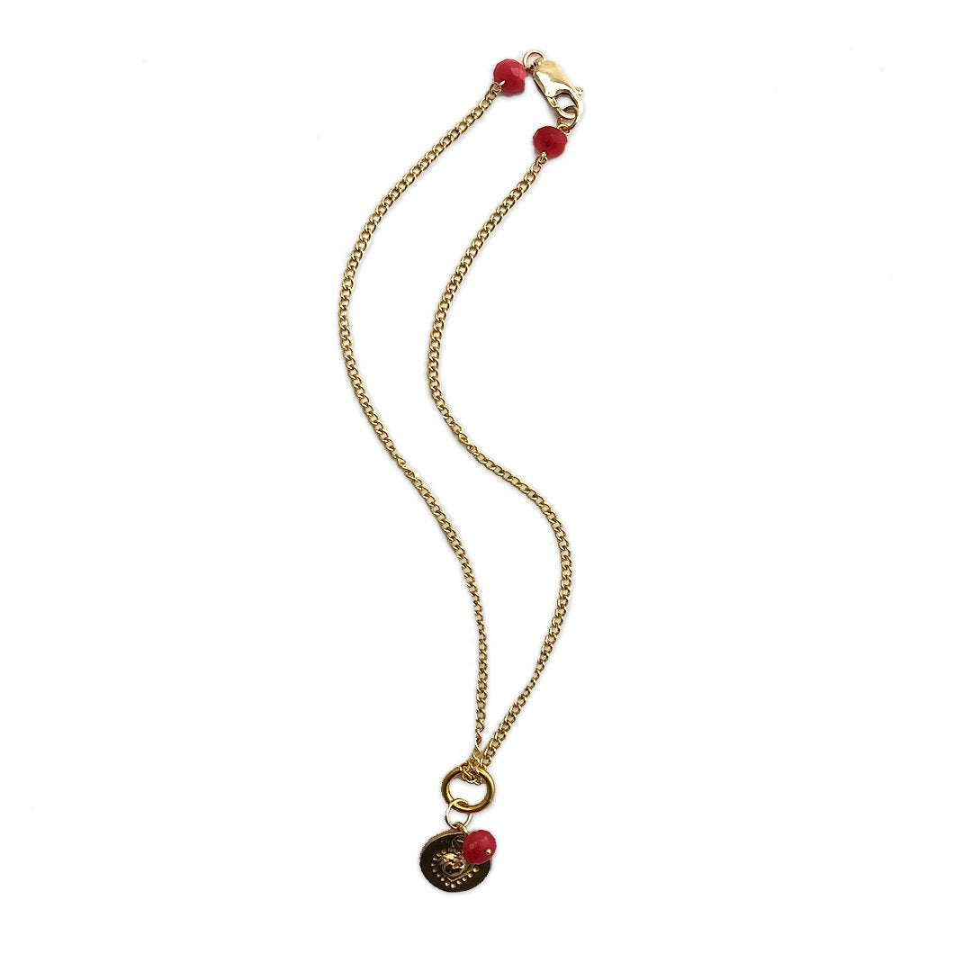 The Look of Love Ruby Pendant