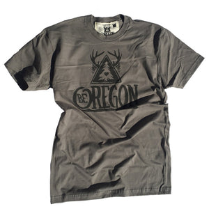 Men's Be Oregon Olive T-shirt