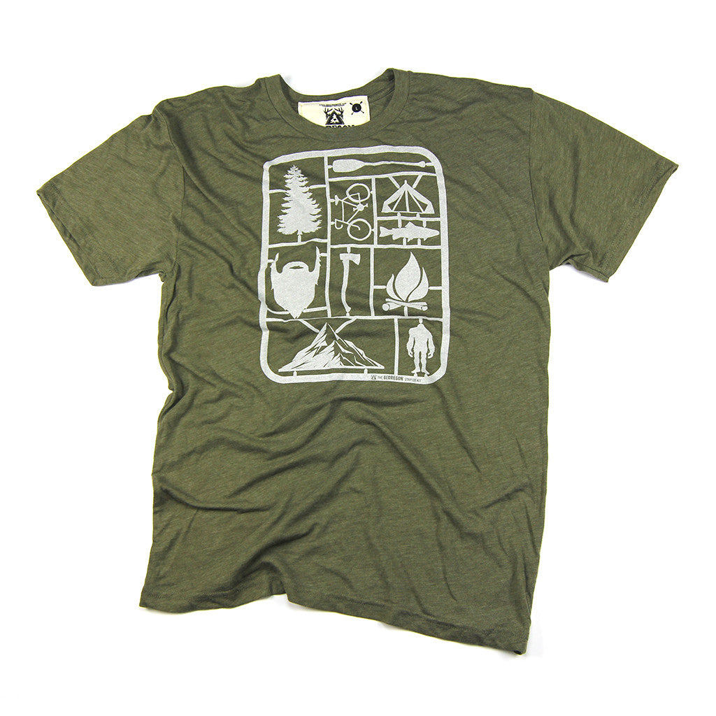 Men's Starter Kit Military Green Crew