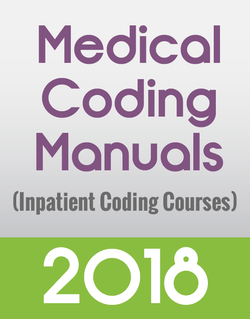 Manuals Only for Inpatient Coding Courses