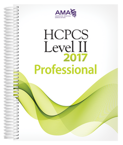 HCPCS 2017 Level II Professional Edition