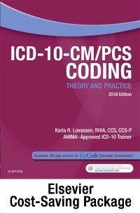 ICD-10-CM/PCS Coding Theory and Practice, 2018 Edition - Text and Workbook Package, 1st Edition