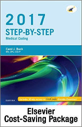 Step-by-Step Medical Coding, 2017 Edition – Text and Workbook Package