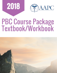 2018 PBC Course Textbook/Workbook Package (AAPC)