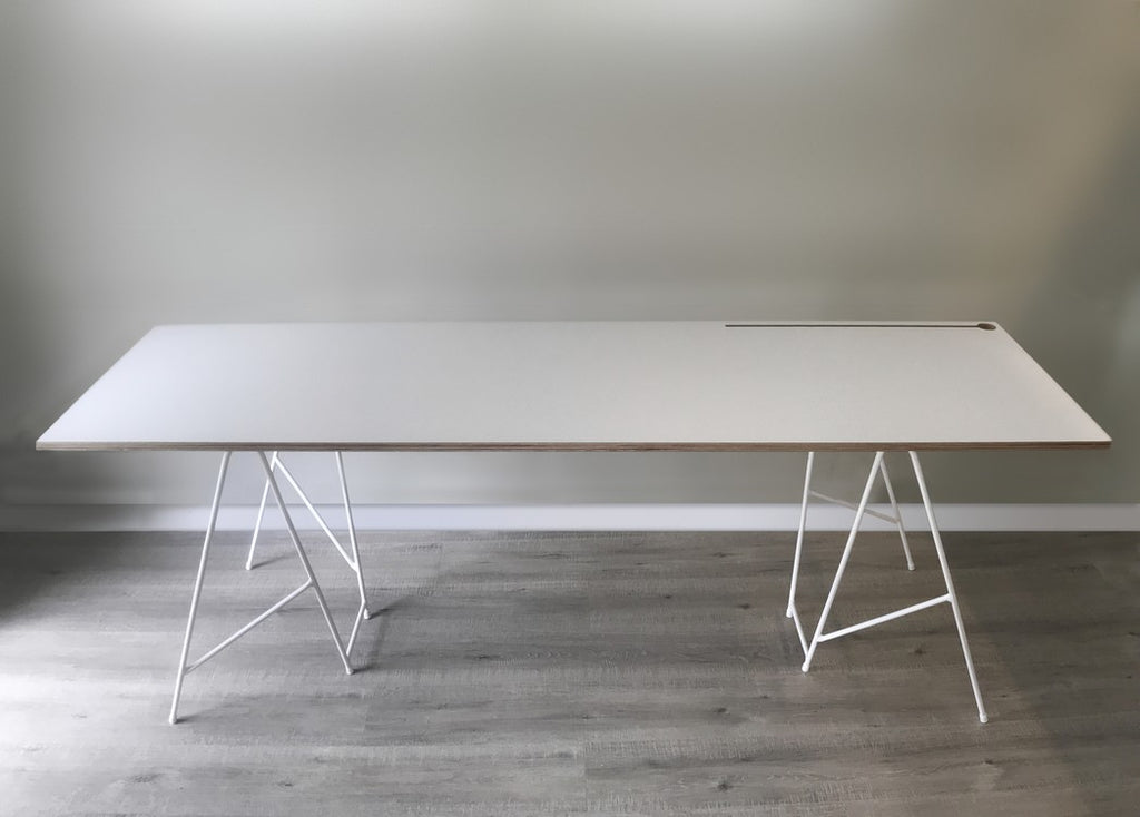 Angle Trestle Table