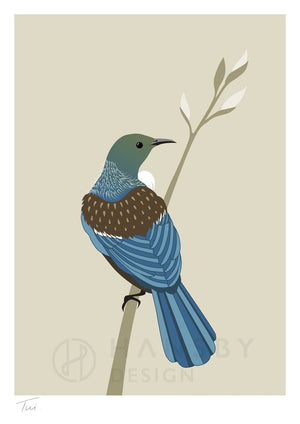 Cathy Hansby Print - Tui Natural