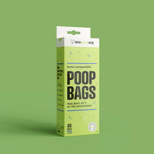 Compostable Poop Bags (60 Pack)