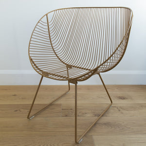 Coromandel Wire Chair