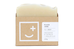 Fair + Square Body Soap - Plain Jane