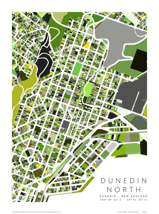 Karyn McDonald Map - Dunedin North