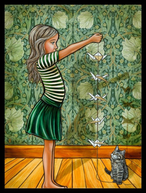 Mandy Williams Print - Origami Birds