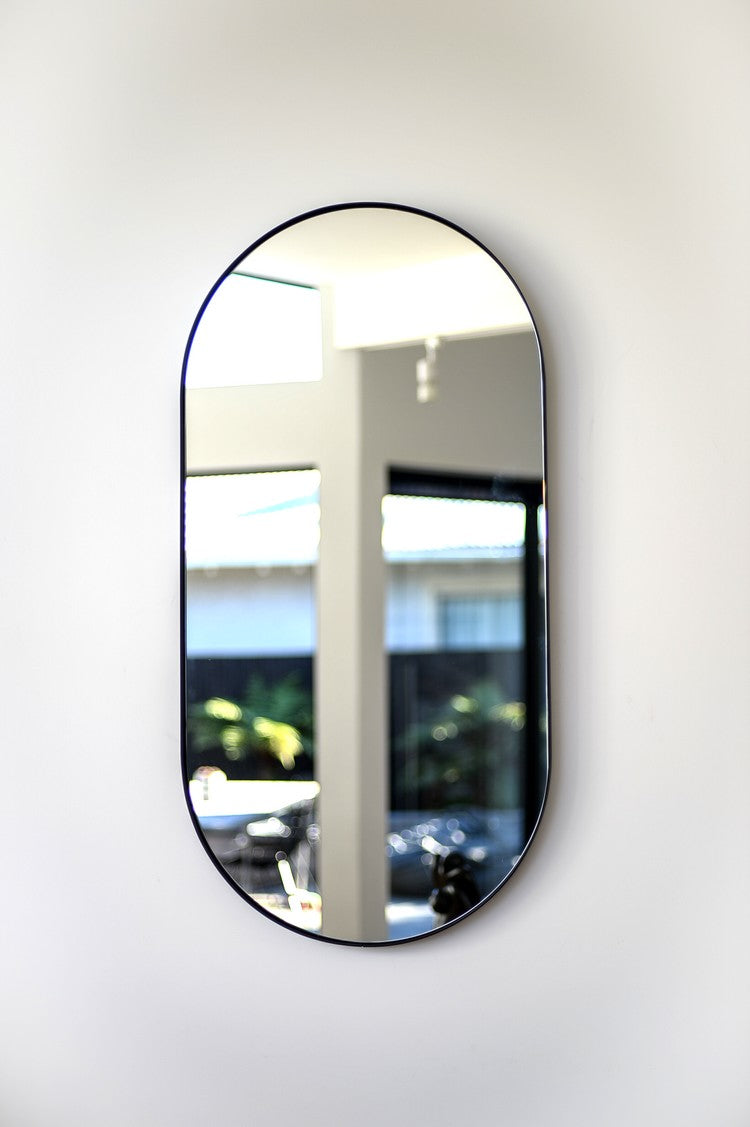 Outline Oval Wall Mirror