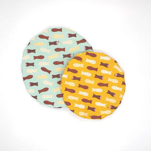 Reusable Bowl Covers (Set of 2)
