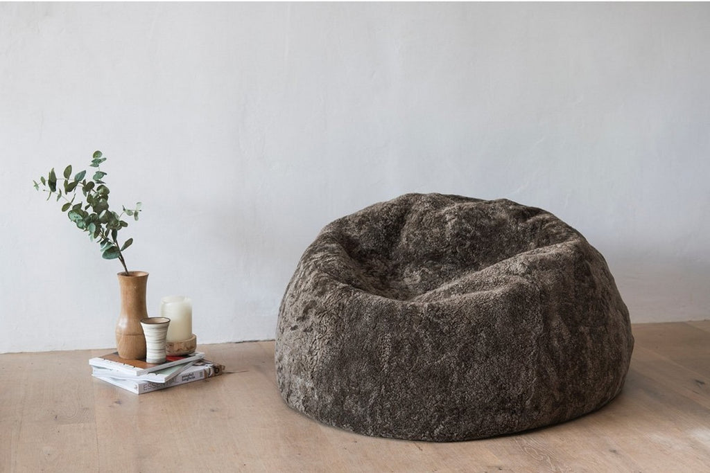 Sheepskin Short Bean Bag