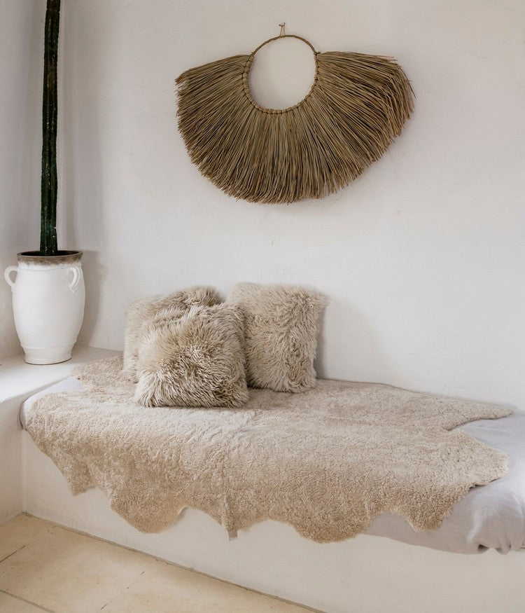 Sheepskin Short Throw