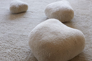 Sheepskin Stones (set of 3)