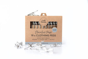 Stainless Clothing Pegs
