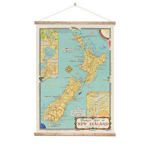 Wall Chart - NZ Tourist Map