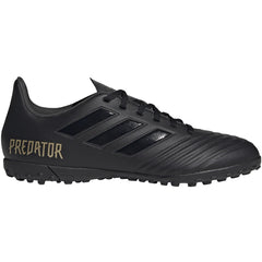 Men's Adidas Predator 19.4 Turf Black/Black