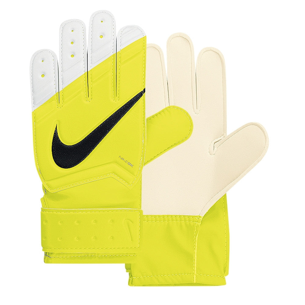 Nike Jr. Grip Goalkeeper Volt/White//Blac