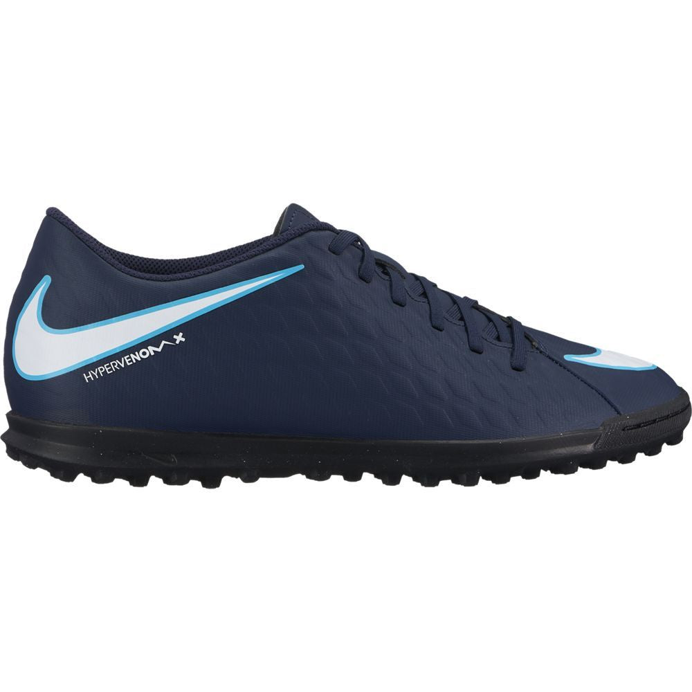 Men's Nike HypervenomX Phade III (TF) Artificial-Turf Football Boot Blue