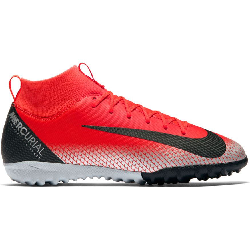 Nike Jr Superfly 6 Academy GS CR7 TF Bright-Crimson