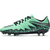 Nike Hypervenom Phelon Ii (Fg) Green Glow/Hyper Orange//Metallic Silver
