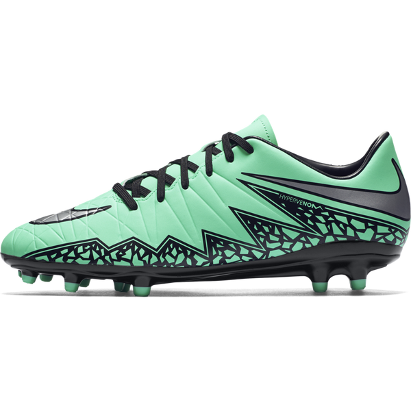 huge discount e5702 cd854 Nike Hypervenom Phelon Ii (Fg) Green Glow Hyper Orange  Metallic Silve –  Sport Zone
