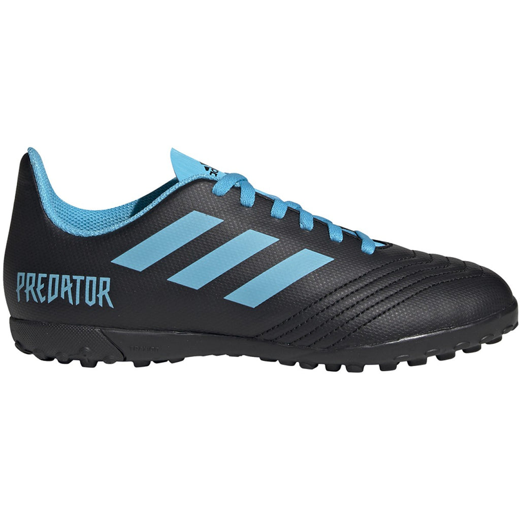 Adidas Junior Predator 19.4 Turf Black/Blue