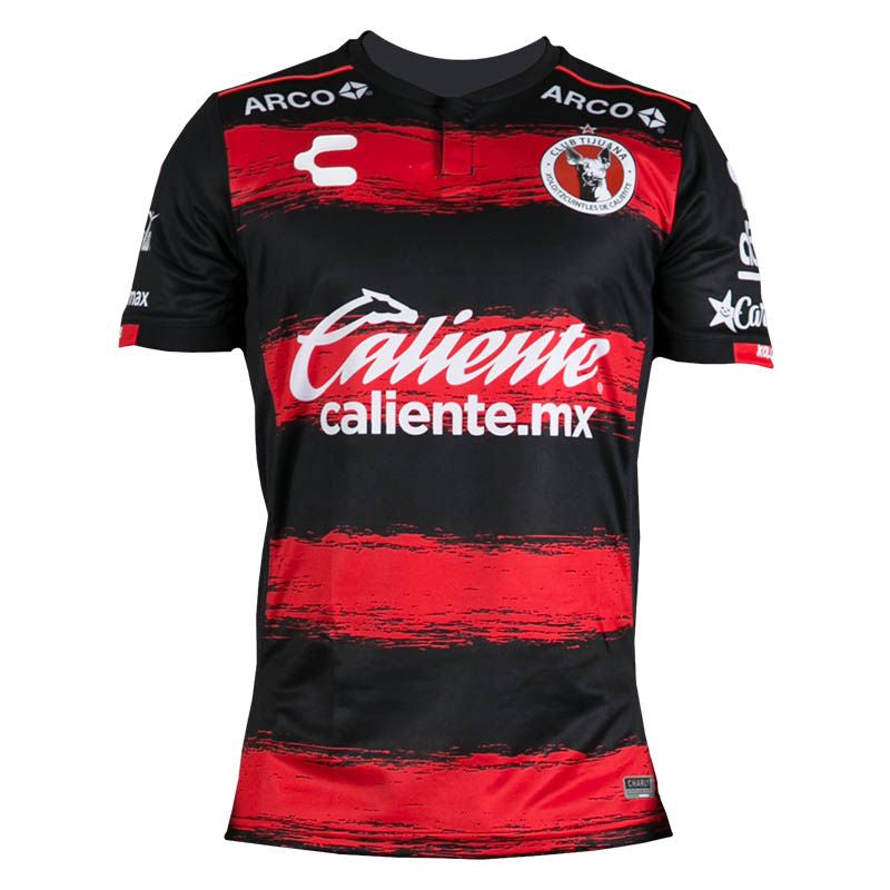 Charly Xolos Men Jersey Home Black/Red