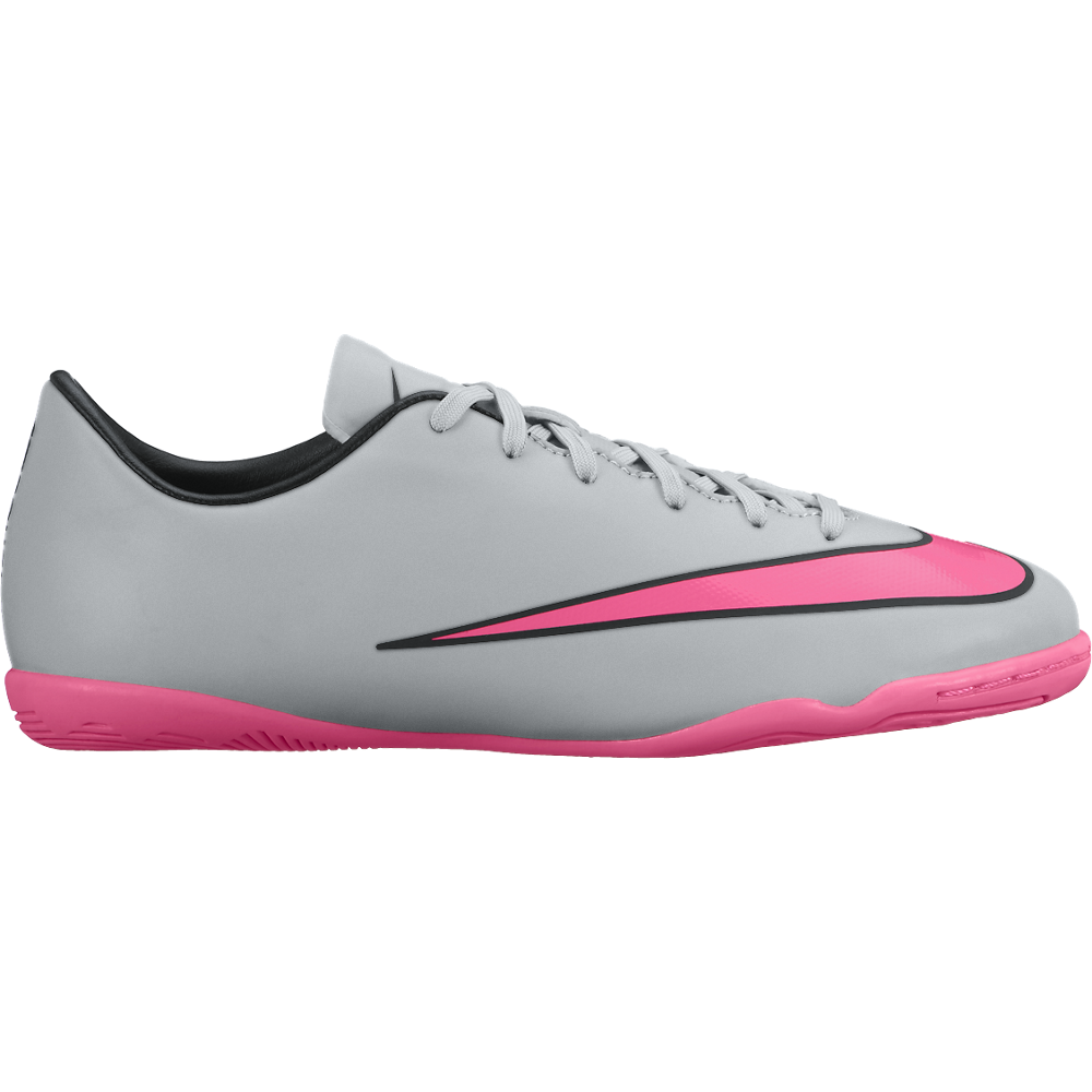 Jr Mercurial Victory V Ic Wolf Grey/Black//Hyper Pink