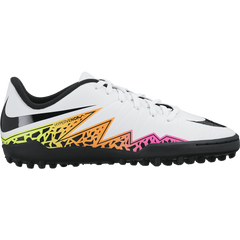 Nike Junior Hypervenom Phelon Ii (Tf) White/Total Orange/Volt/Black