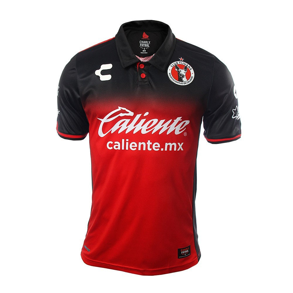 Charly Xolos Mens Jersey Red/Black