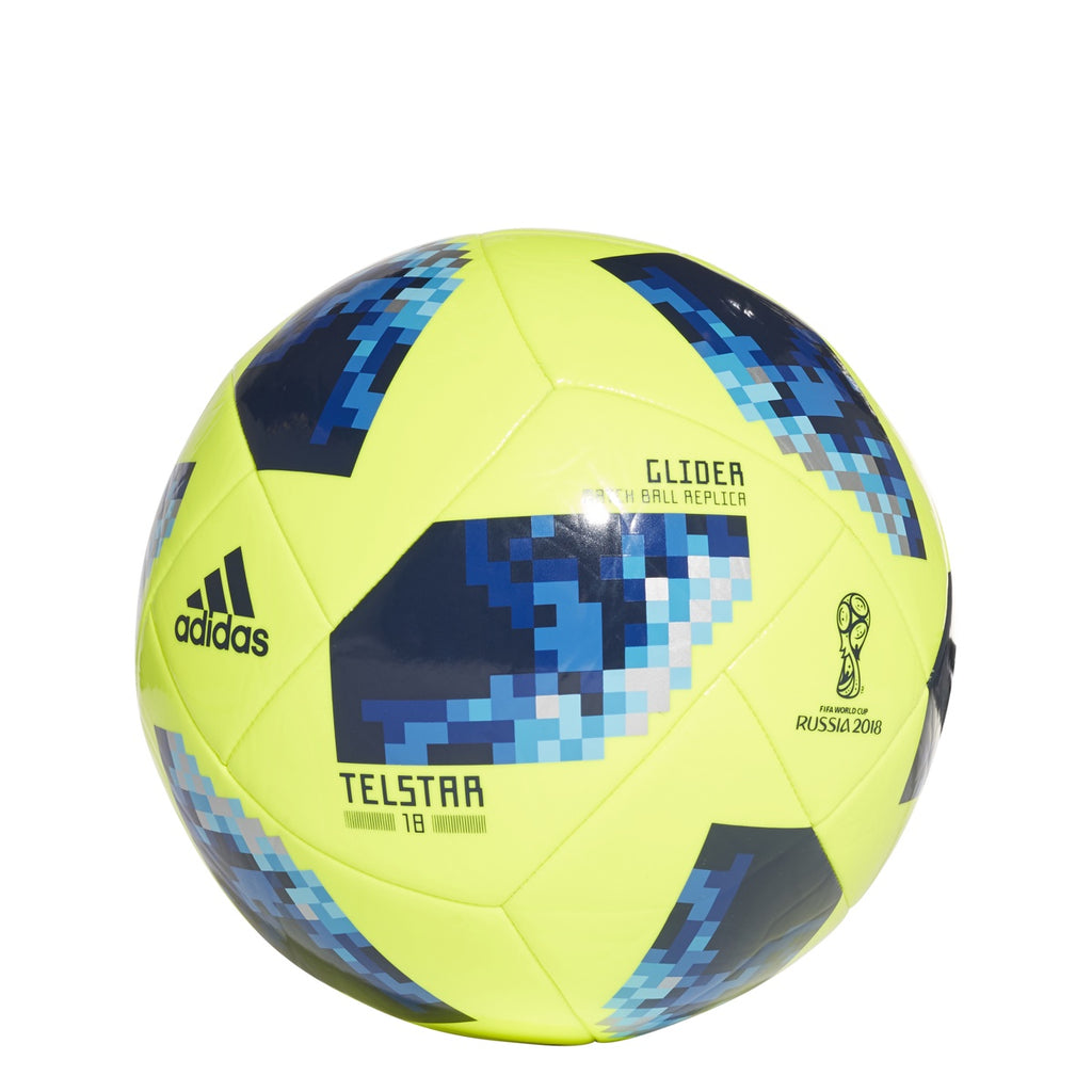 Adidas World Cup Glide Ball Yellow/Blue