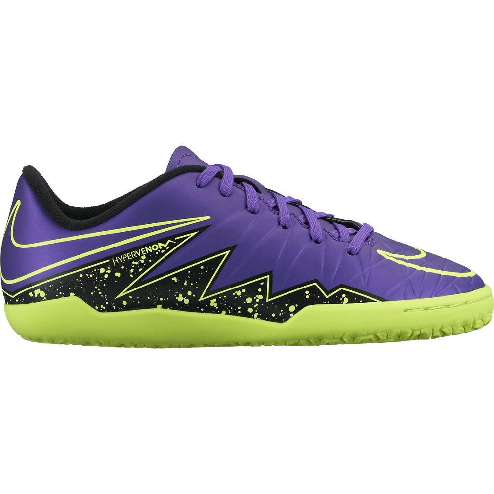 Nike Junior Hypervenom Phelon Ii (Ic) Hyper Grape/Black//Hyper Grape