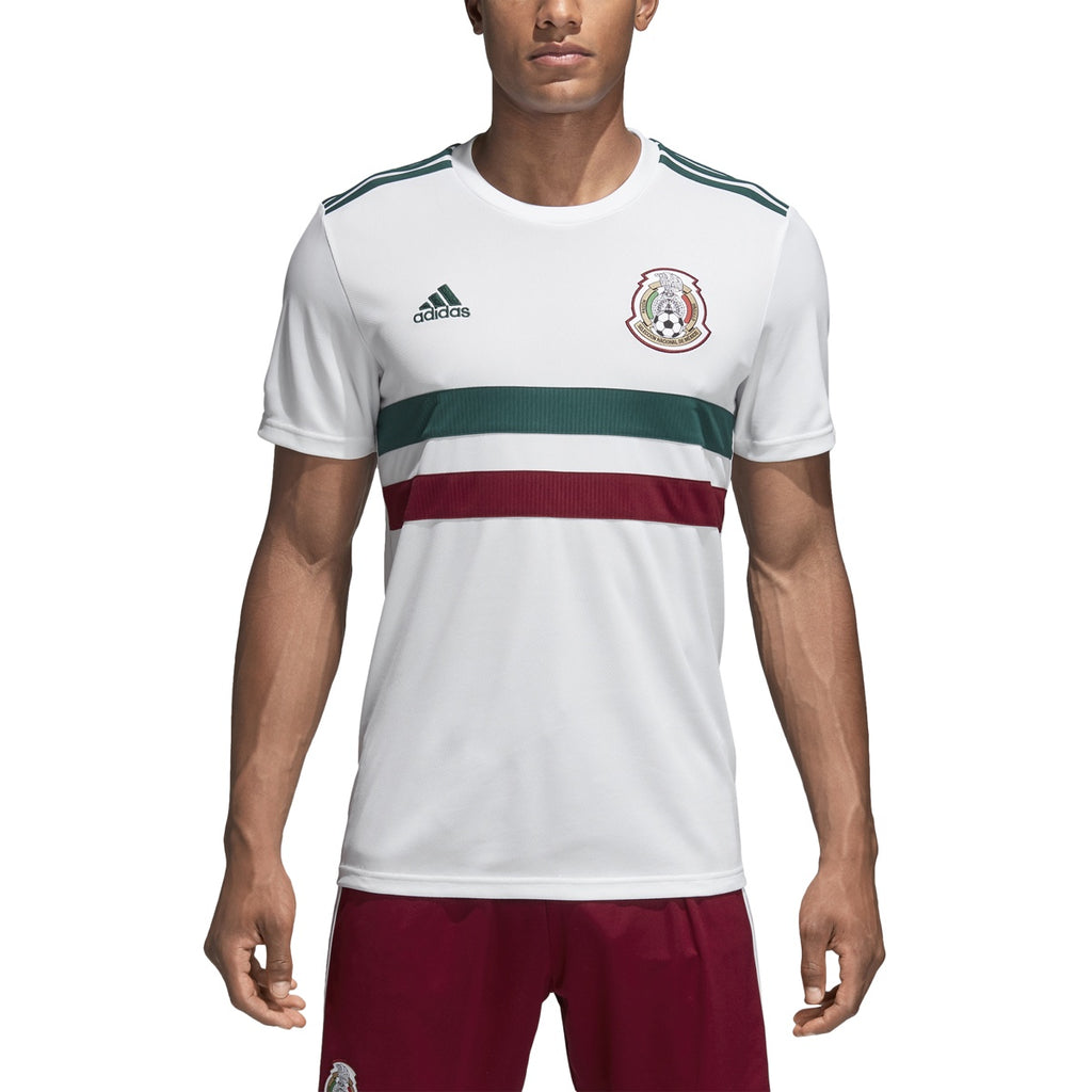 290b06601 Adidas Mexico Away Jersey Adult White